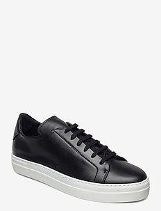 Signature Leather Sneaker - niedriger schnitt - black