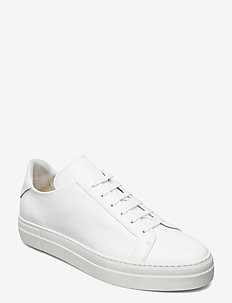 Signature Leather Sneaker - niedriger schnitt - white