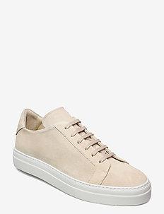 Signature Suede Sneaker - niedriger schnitt - sand grey