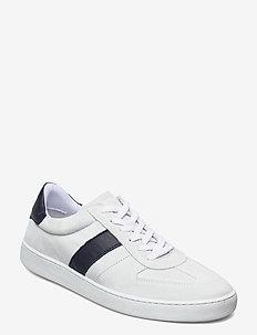 Chris Suede Sneaker - niedriger schnitt - white