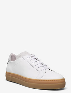 Signature Leather Sneaker - baskets basses - white