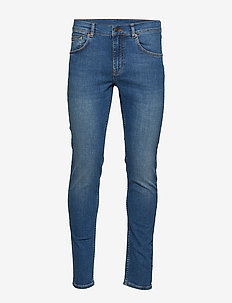 Damien-Broken - skinny jeans - mid blue