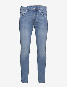 Jay-Worked - slim jeans - light blue