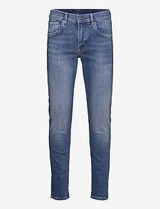 Jay Active Light Indigo Jeans - slim jeans - light blue