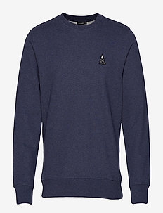 Throw c-neck-Ring Loop Sweat - sweats - jl navy