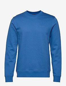 Throw c-neck-Clean sweat - sweats basiques - yale blue