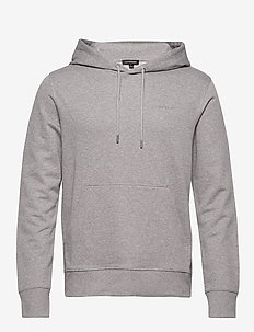 Throw Hood-Clean sweat - sweats basiques - grey melange
