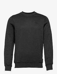 Verge Logo Sweatshirt - oberteile - black