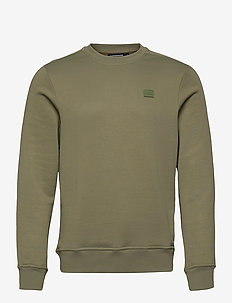 Verge Logo Sweatshirt - oberteile - lake green