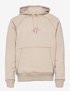 Ken Raglan Hoodie - basic-sweatshirts - sand grey
