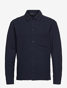 James Jersey Overshirt - oberteile - jl navy