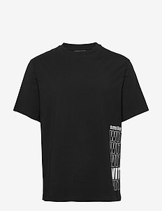 Michael-Distinct Cotton - t-shirts basiques - black
