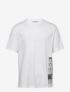 Michael-Distinct Cotton - t-shirts basiques - white