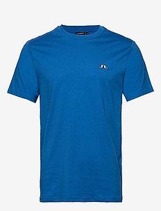 Bridge Tee-S Jersey - basic t-shirts - yale blue