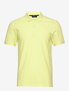 Troy-Clean Pique - polos à manches courtes - still yellow