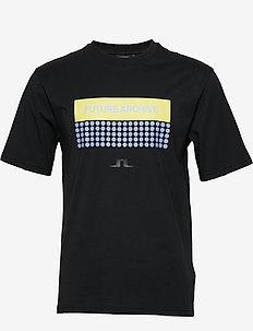 Dale-Distinct Cotton - kortærmede t-shirts - black