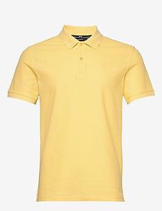 Troy-Clean Pique - short-sleeved polos - daffodil