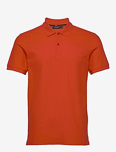 Troy-Clean Pique - short-sleeved polos - racing red