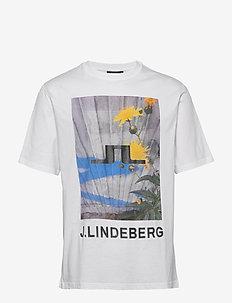 Michael-Distinct Cotton - short-sleeved t-shirts - flowerwhite