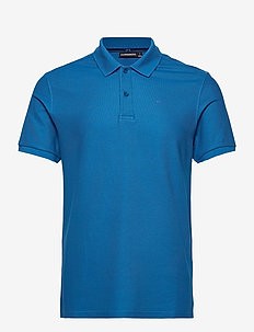 Troy Polo Shirt  Clean Pique - krótki rękaw - egyptian blue
