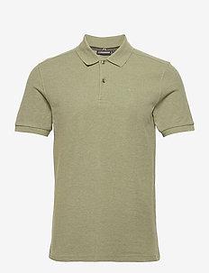 Troy Polo Shirt Seasonal Pique - kurzärmelig - lake green melange