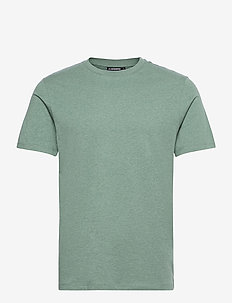Silo Melange T-shirt - basic t-shirts - sage
