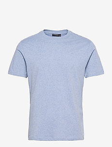 Silo Melange T-shirt - basic t-shirts - steel blue