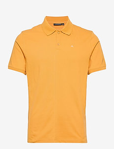 Rubi Slim Polo Shirt - kurzärmelig - golden orange