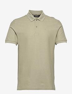 Troy Polo Shirt Seasonal Pique - krótki rękaw - sage