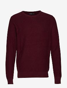 Arthur-Small Structure - basic sweatshirts - dark mocca