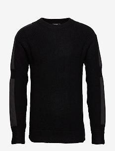 Therry-Wool Nylon - BLACK