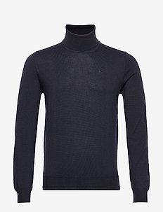 Lyd-True Merino - basic knitwear - jl navy