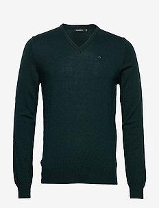 Lymann-True Merino - basic knitwear - fountain