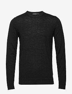Newman-Perfect Merino - basic knitwear - black