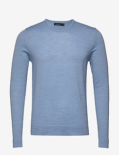Newman-Perfect Merino - basic strik - dusk blue