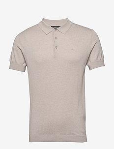 Ridge-Cotton Silk - polos à manches courtes - cloud grey