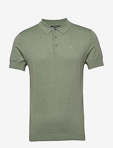 Ridge-Cotton Silk - polos à manches courtes - sage green