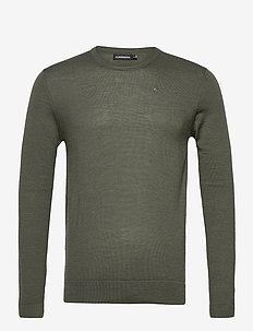Newman Merino Crew Neck - basic-strickmode - lake green melange