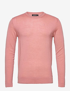 Newman Merino Crew Neck - basic-strickmode - rose coppar
