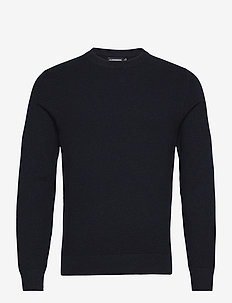 Andy Structure C-Neck Sweater - podstawowa odzież z dzianiny - jl navy