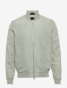 Thom-Gravity Poly - bomber jackets - stone grey