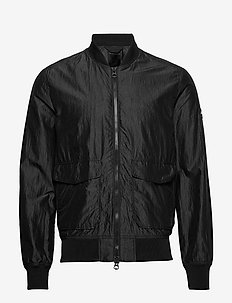 Marty-Silk Nylon - bomber jackets - black