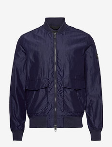 Marty-Silk Nylon - bomber-takit - mid blue