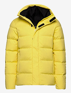 Barrell Stretch Down Jacket - padded jackets - butter yellow