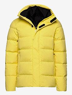 Barrell Stretch Down Jacket - vestes matelassées - butter yellow