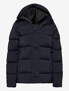 Barrell Stretch Down Jacket - padded jackets - jl navy