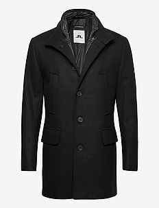 Kali Wool Coat - uldfrakker - black