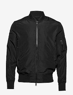 Thom jacket - bomber jakke - black