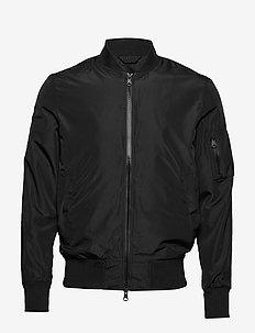 Thom jacket - bomberjacks - black