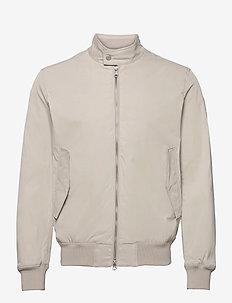 Derek Poly Stretch jacket - bomberjacken - sand grey